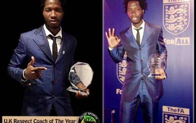 Fulham football coach wins FA respect award